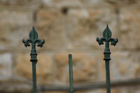סיומת של גדר ברחוב שמריהו לוין