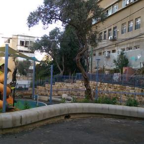 סיור בגן קסל המחודש בהדר (או גן נתן בשמו הרשמי)