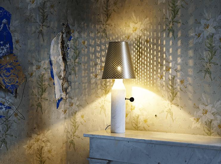 VULCAIN - Lampe de table