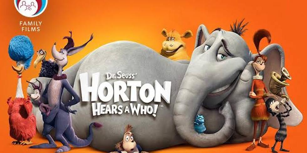 Movie Under the Stars: Horton Hears a Who!