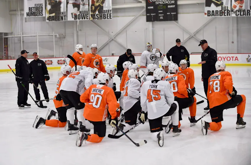 Three Skaters to watch for in the Player Development Camp