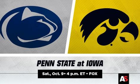 Iowa's Defense Man-Handles Penn State's Offense