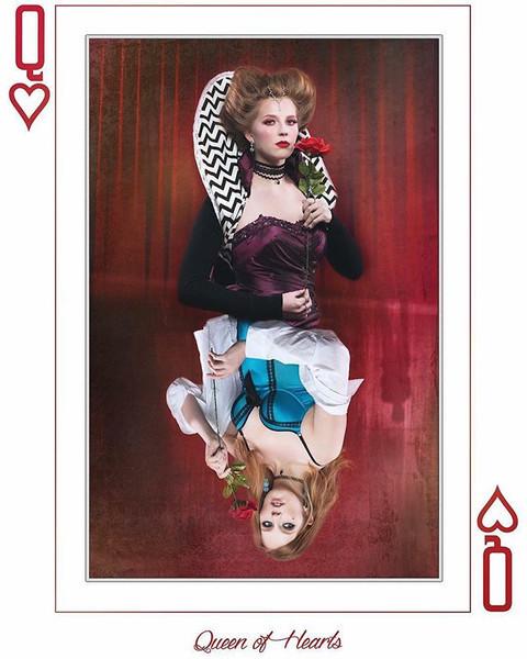 """""""Suits"""" Queen of Hearts"""