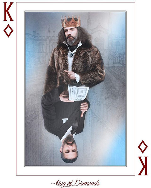 """""""Suits"""" King of Diamonds"""
