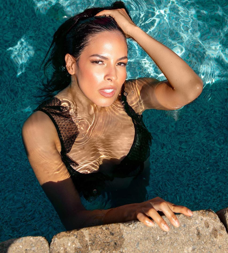 Model: Maria Jimena Osorio Stylist: Kaico Swimwear Photography: Val Provost