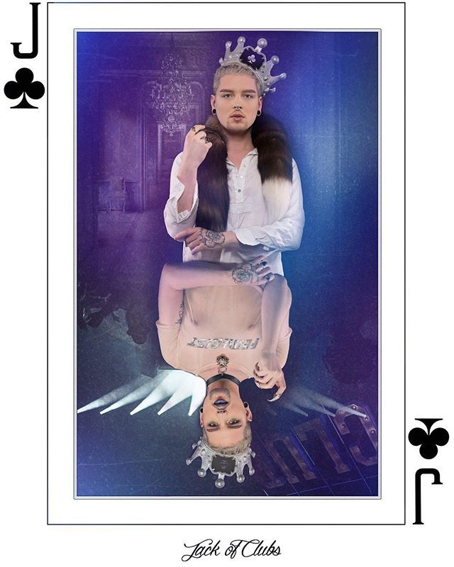 """""""Suits"""" Jack of Clubs"""