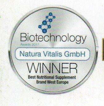 Biotechnology Award Natura Vitals 2017
