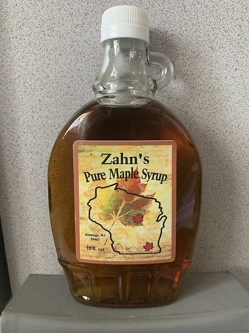 Zahn's Pure Maple Syrup