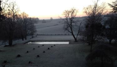 Aperçu du parc en hiver