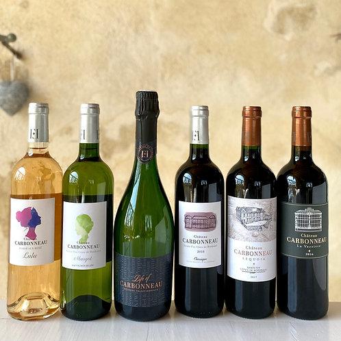 Carbonneau wine discovery box