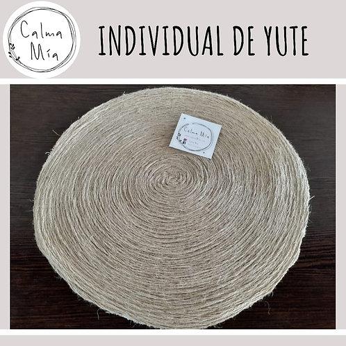 Individual ecológico de Yute