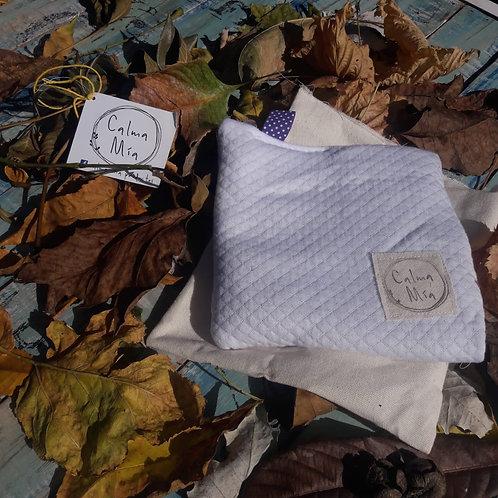 Almohadilla Multiuso de flores de lavanda y semillas de lino