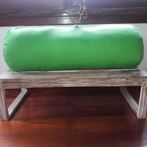 Bolster XL para Yoga y Pilates Verde