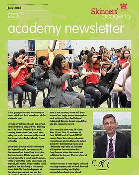 Skinners' Academy Newsletter 23 cover im