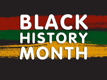 Black History Month - Principal's Message
