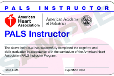 PALS Instructor