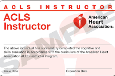ACLS Instructor