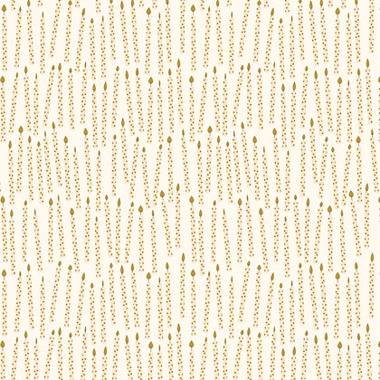Gold Birthday Candle Wrapping Paper