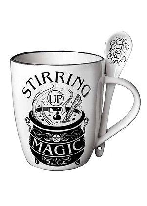 Stirring Up Magic Mug & Spoon