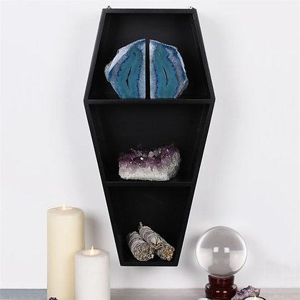 Coffin Shelving Display