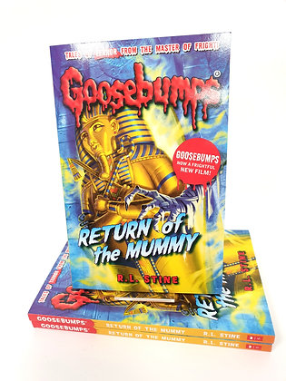 Goosebumps Return of the Mummy - R.L.Stine