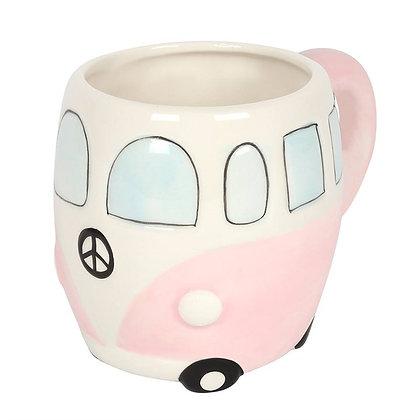 Pink Campervan Mug