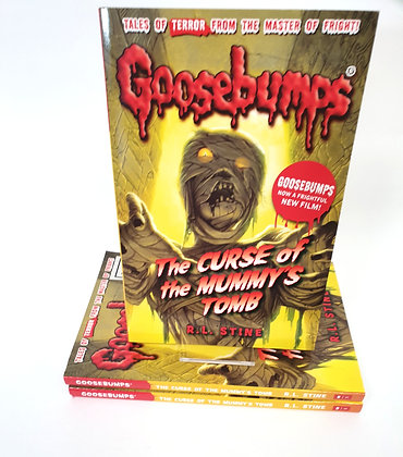 Goosebumps The Curse of the Mummy's Tomb - R.L.Stine