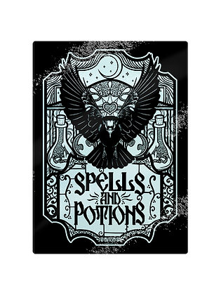 Spells and Potions Chopping Board