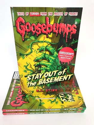 Goosebumps Stay Out of the Basement - R.L.Stine
