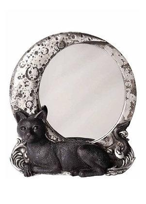 Cat & Moon Mirror