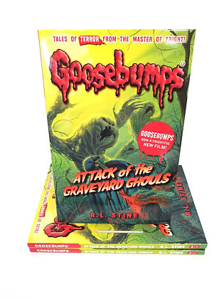 Goosebumps Attack of the Graveyard Ghouls - R.L.Stine