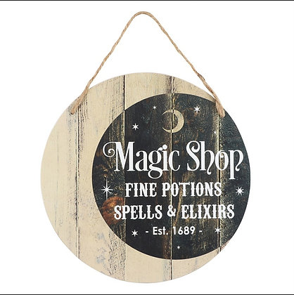 Magic Shop Decorative Sign