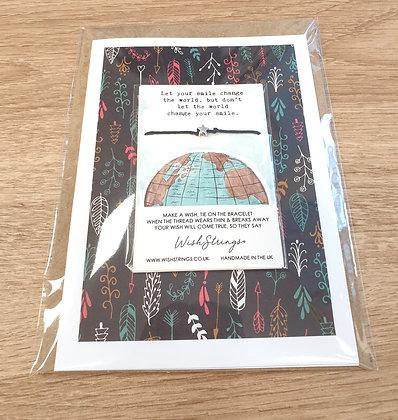 Change the World Wishstring Card