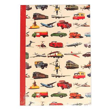 Vintage Transport A5 Notebook