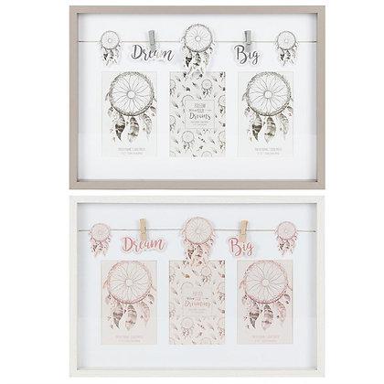 Dreamcatcher Triple Box Frame