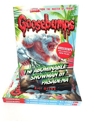 Goosebumps The Abominable Snowman of Pasadena - R.L.Stine