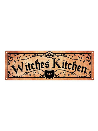 Witches Kitchen Slim Tin Sign