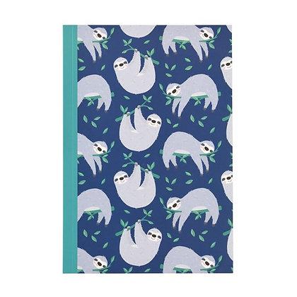 Sydney the Sloth A5 Notebook
