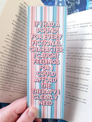 Therapy Bookmark