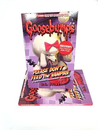 Goosebumps Please Don't Feed the Vampire - R.L.Stine