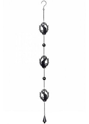 Gothic Cats Hanging Decoration