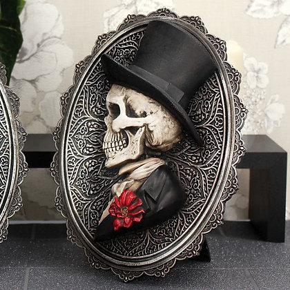 Handsome Skeleton Plaque