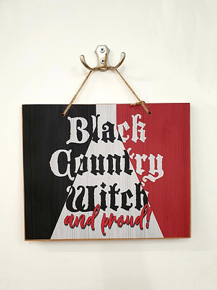Black Country Witch Plaque