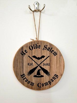 Old Salem Broom Co Plaque