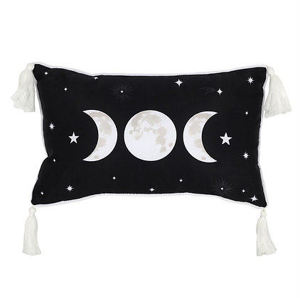 Triple Moon Cushion