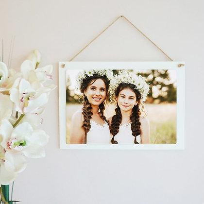 Personalised Hanging Photo Block