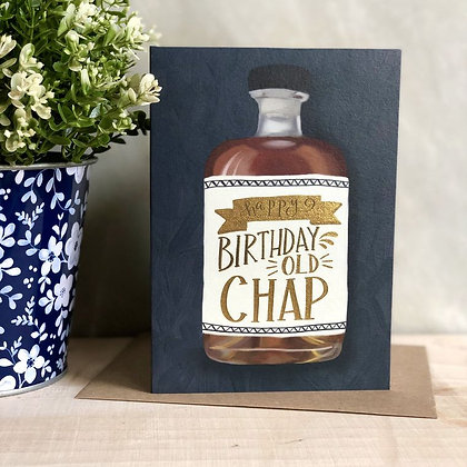 Old Chap Greeting Card