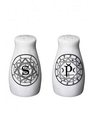 Symbol Salt & Pepper Set