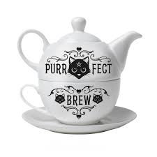 Purrfect Brew Tea For One