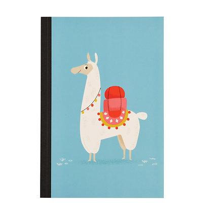 Llama A5 Lined Notebook